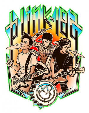 BLINK-182 LIVE by Munk One