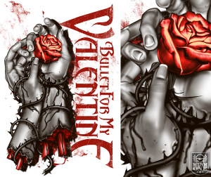 Bullet For My Valentine HANDS by Munk One