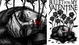 Bullet For My Valentine ROSES by Munk One