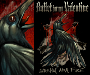 Bullet For My Valentine SCREAM by Munk One