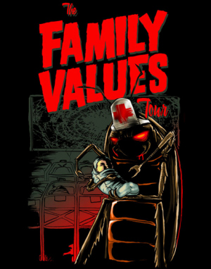 Family values Nurse by Munk One