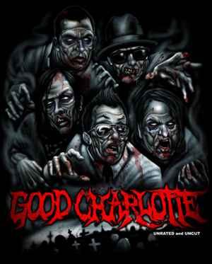 Good Charlotte Zombies by Munk One