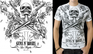 Guns and Roses CROSSED by Munk One