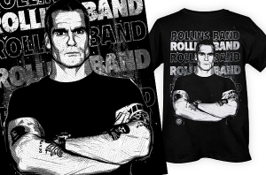 HENRY ROLLINS HEADLINES by Munk One