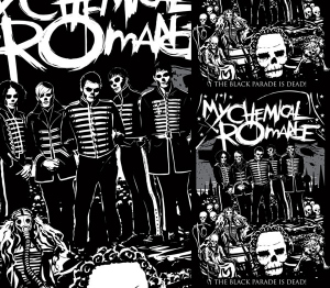 My Chemical Romance Black Parade DEAD by Munk One