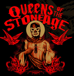 Queens of the Stone Age Sacred Mask Tee by Munk One