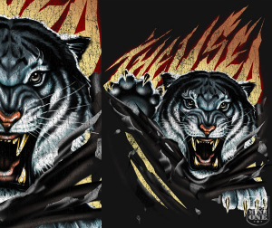 THE USED TIGER by Munk One