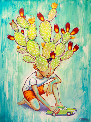 2015 Cactus Boy by Munk One