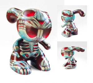 Custom Painted Blink Bunny by Munk One