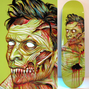 Heartless Custom Board Art by Munk One