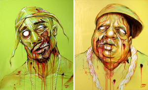 PAC & BIG Zombies by Munk One