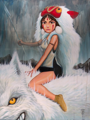 PRINCESS MONONOKE by Munk One