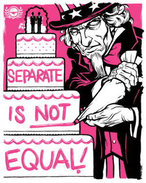 SEPARATE IS NOT EQUAL by Munk One