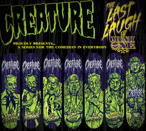 CREATURE LAST LAUGH FLYER by Munk One