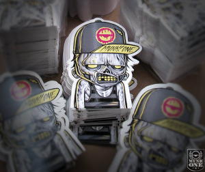 MEATHEAD STICKERS by Munk One