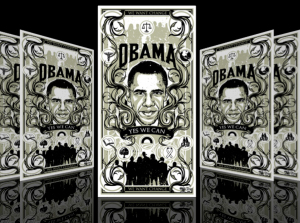 OBAMA STICKERS by Munk One