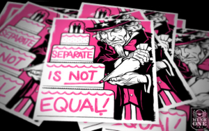 SEPARATE Stickers by Munk One