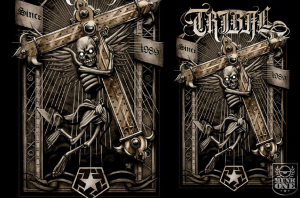 Tribal CROSS by Munk One
