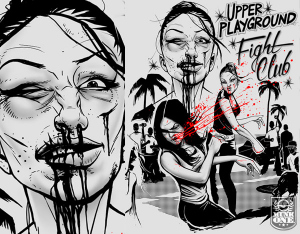 UP FIGHTCLUB by Munk One