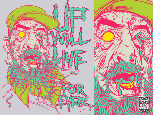 UP FOREVERFIDEL by Munk One