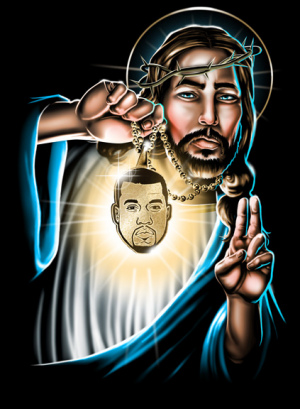 UP JESUS PEICE by Munk One